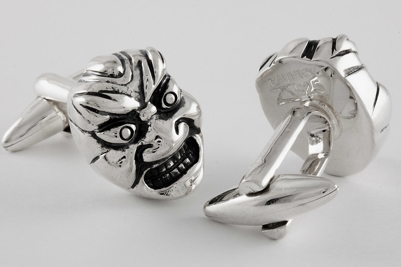 Hannya Cuff links